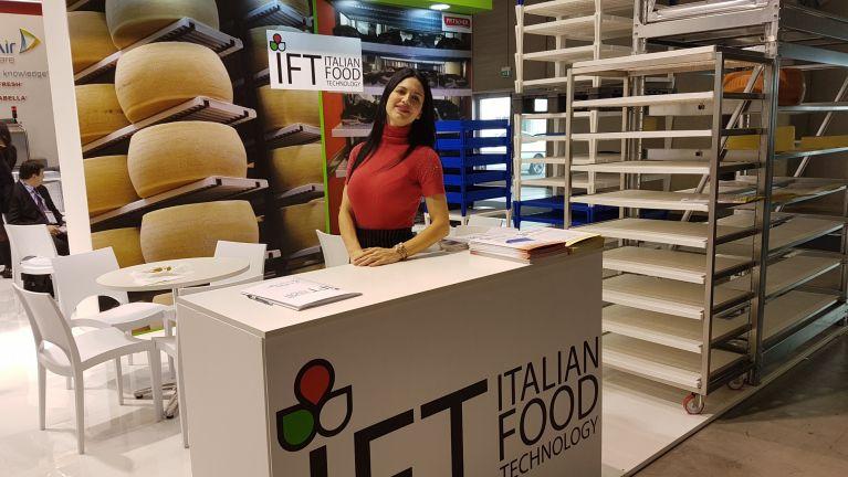 IFT alla Fiera della Tecnologia italiana per l'industria alimentare