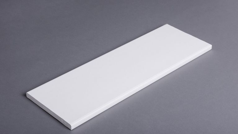 Smooth/knurled board