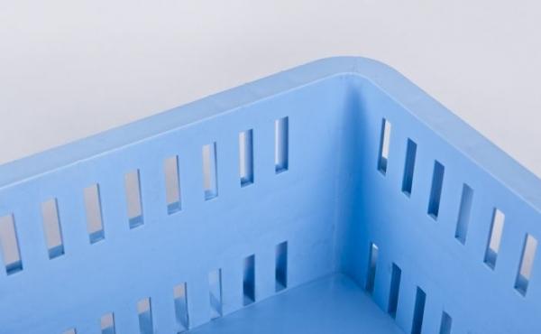 Cassette in plastica idonee al contatto alimentare