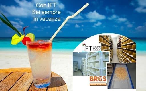 Informiamo i nostri clienti che IFT sarà chiusa per ferie dal 9 al 22 agosto.